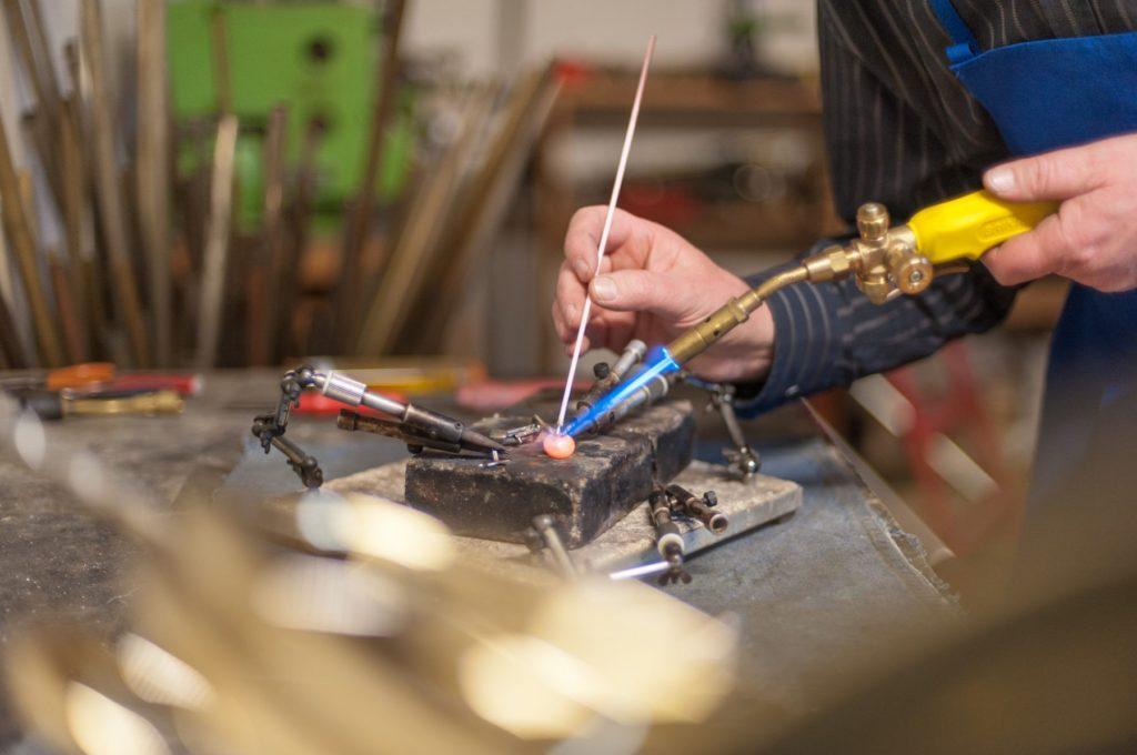 Reparatur von Blasinstrumente