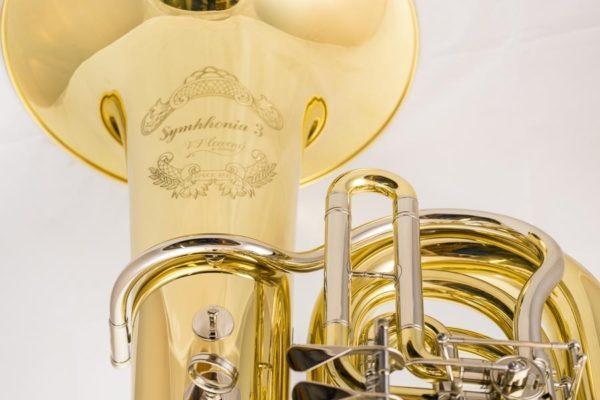 Bassi tuba in SIb - Cerveny