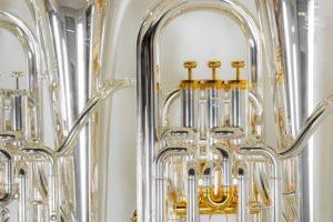 Euphonien Detailaufnahme Musikinstrumente Müller