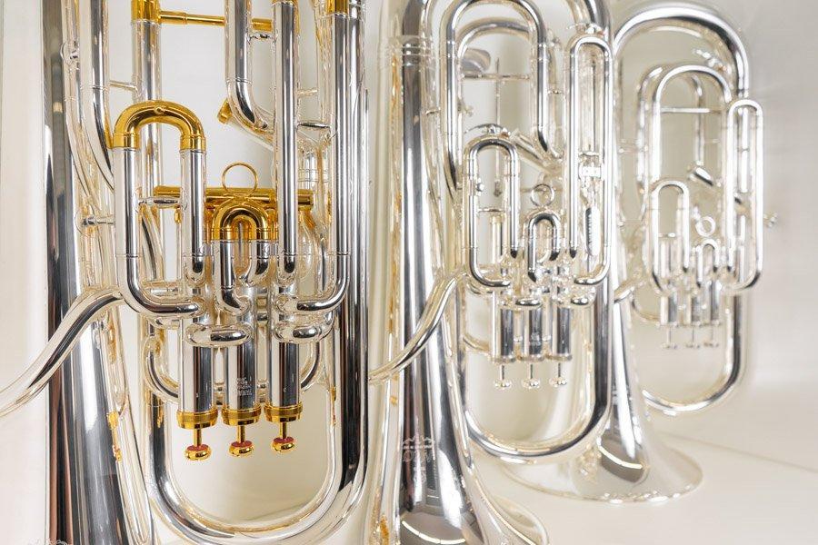 Euphonien bei Musik Müller in Südtirol
