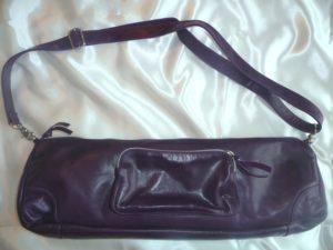 Violette Flötentasche